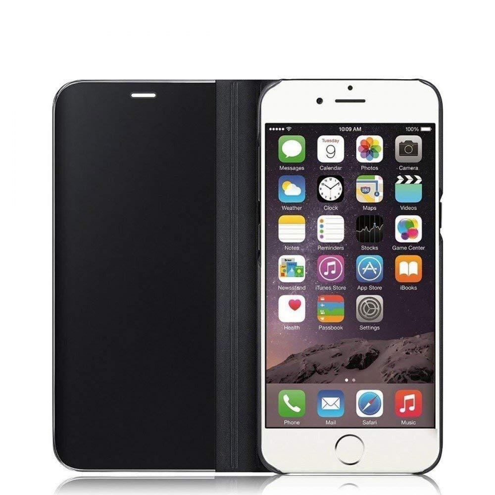 Custodia a specchio tipo libro per iPhone X - DiscoAzul.it