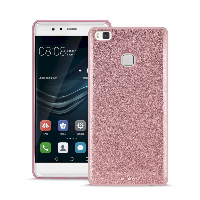 Cover Shine Rose Gold Huawei P10 Lite Puro - DiscoAzul.it