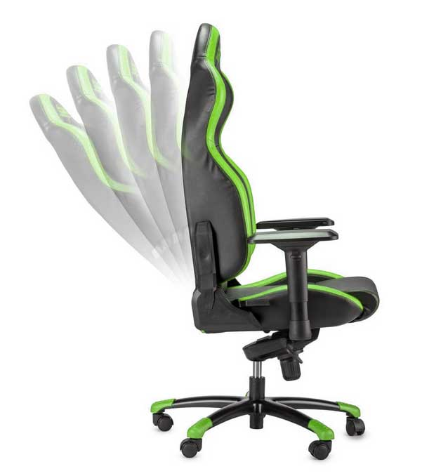 Sparco Gaming Grip Seat - Black / Green - DiscoAzul.it
